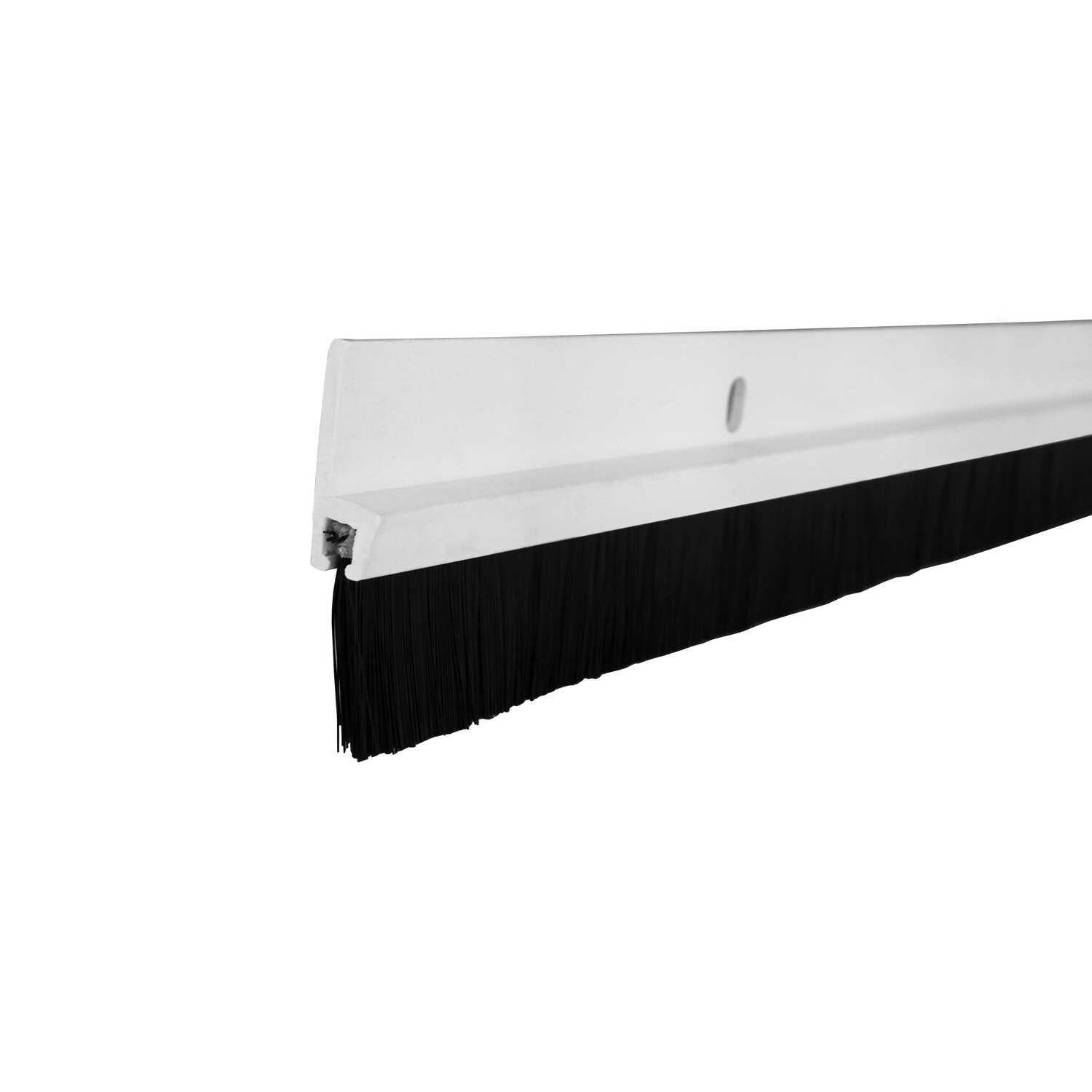 M-D Building Products  White  Plastic  Door Sweep  1-3/4 in.  x 3 ft. L For Door Bottom