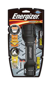 Energizer  HardCase  400 lumens Black  LED  Flashlight  AA