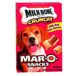 Milk Bone  Mar-O-Snacks  Bacon  Dog  Biscuit  1 pk 24 oz. 24 oz.