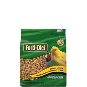 Kaytee  Forti-Diet  Canary & Finch  Millet  Food  Bird  2 lb. Seed