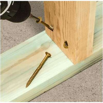 Simpson Strong-Tie  Strong-Drive  No. 8   x 3 in. L Star  Low Profile Head Framing Screws  1.32 lb.