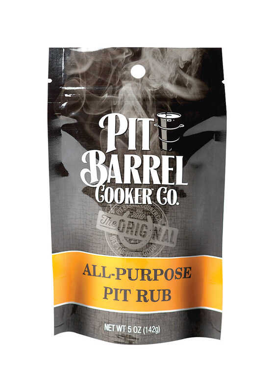 Pit Barrel Cooker  All Purpose  BBQ Rub  5 oz.