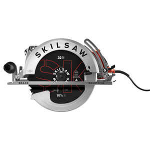 SKILSAW  Super Sawsquatch  16-5/6 in. Corded  15 amps Worm Drive Circular Saw  Kit  2500 rpm