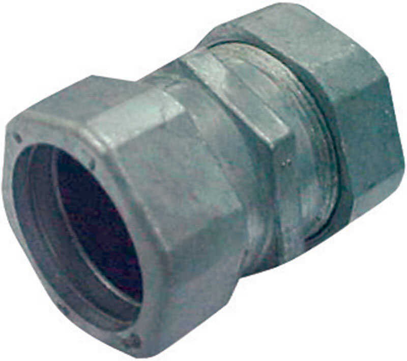 Sigma  1/2 in. Dia. Zinc  Compression Coupling  For EMT
