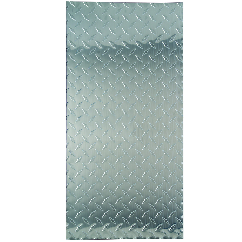 M-D Building Products  0.02 in.  x 1 ft. W x 2 ft. L Aluminum  Diamond  Sheet Metal