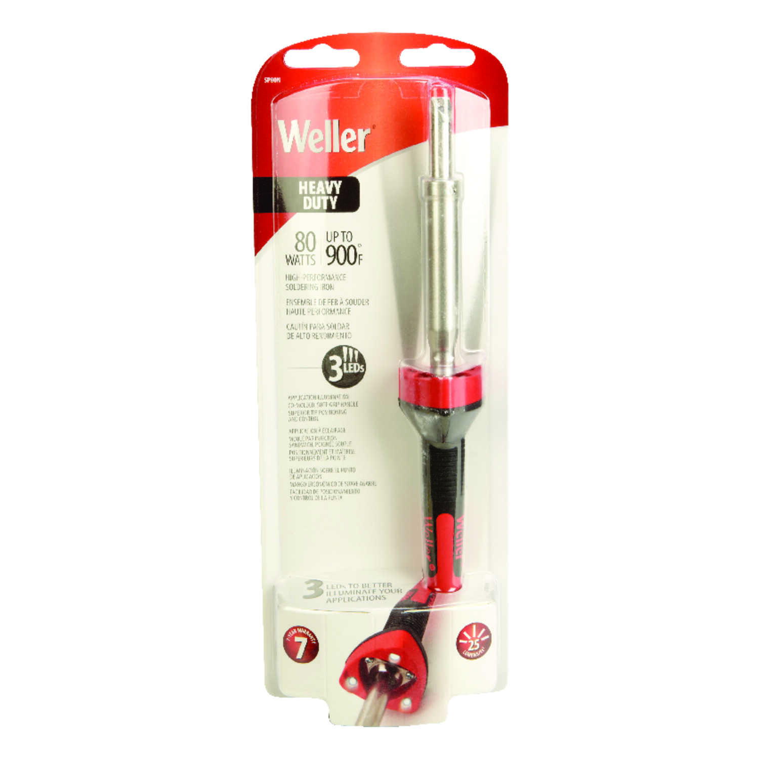 Weller  12 in. Corded  Soldering Gun Kit  80 watts Orange  1