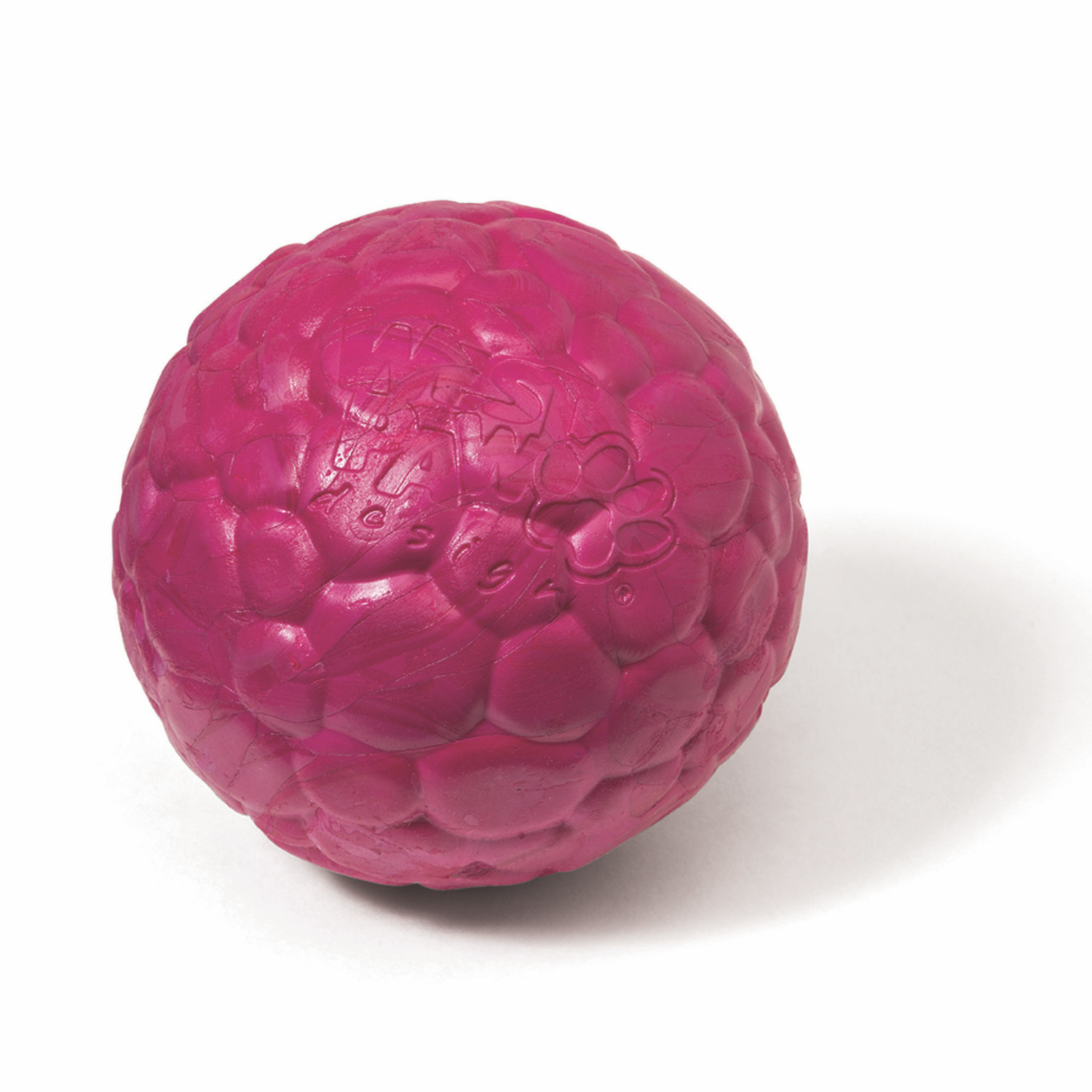 West Paw  Zogoflex Air  Pink  Boz Ball  Ball Dog Toy  Medium  Synthetic Rubber