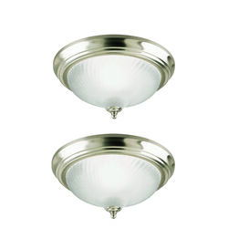 Westinghouse  5-7/8 in. H x 11 in. W x 11 in. L Ceiling Light