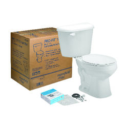 Mansfield  Alto Pro-Fit 1  1.28 gal. White  Round  Complete Toilet