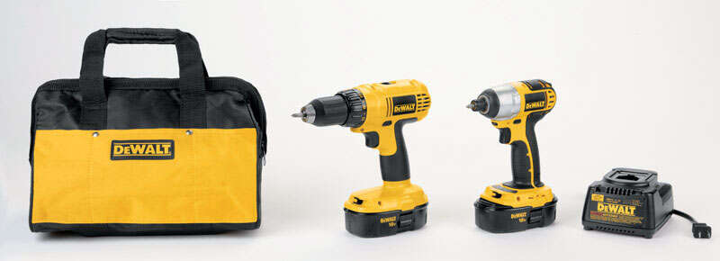 DeWalt  2 tools Combo Kit  18 volts Cordless