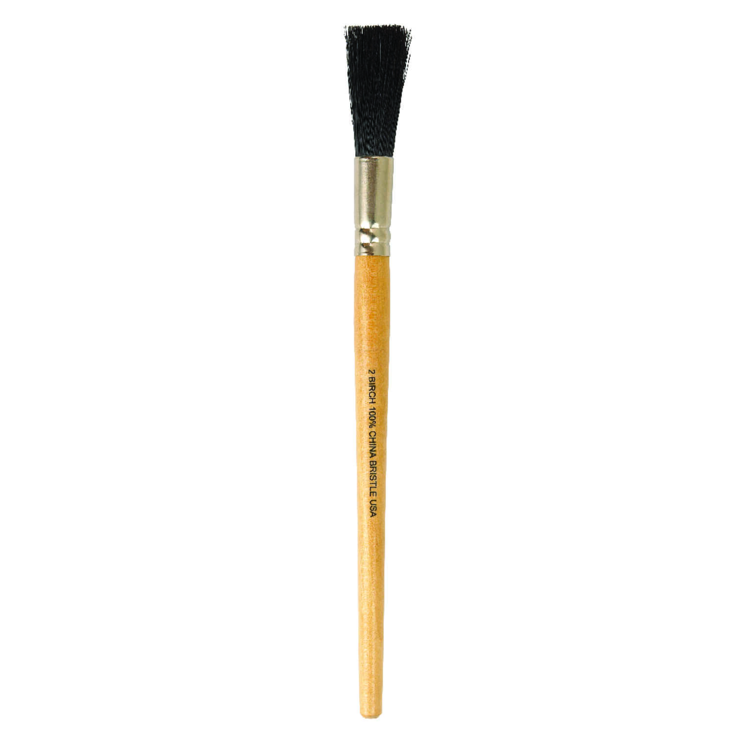 Purdy  No. 2  W Oval Sash  Black China Bristle  Paint Brush