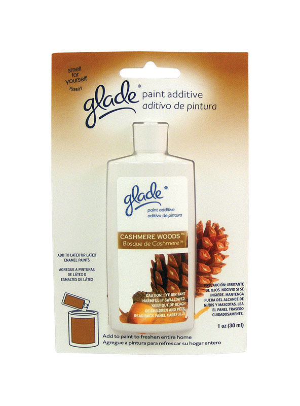 Glade  Scented Paint Additive  Cashmere Woods Scent Type 1 oz.