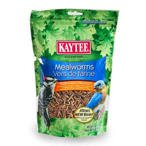 Kaytee  Woodpecker  Wild Bird Food  Dried Mealworm  7 oz.