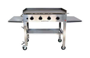 Blackstone  4 burners Propane  Outdoor Griddle  Stainless Steel  60000 BTU