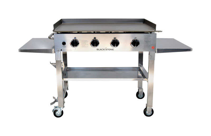 Blackstone  4 burners Propane  Grill  Stainless Steel  60000 BTU