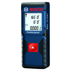 Bosch  Blaze  4.125 in. L x 1.625 in. W Laser Distance Measurer  165 ft. Blue  3 pc.