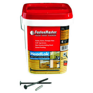FastenMaster  HeadLok  No. 10   Spider  Hex  Steel  Wood Screws  Epoxy  250 each