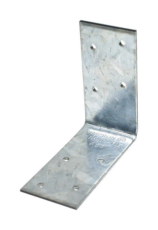 Simpson Strong-Tie  3 in. H x 3 in. W x 1.5 in. L Galvanized Steel  Angle