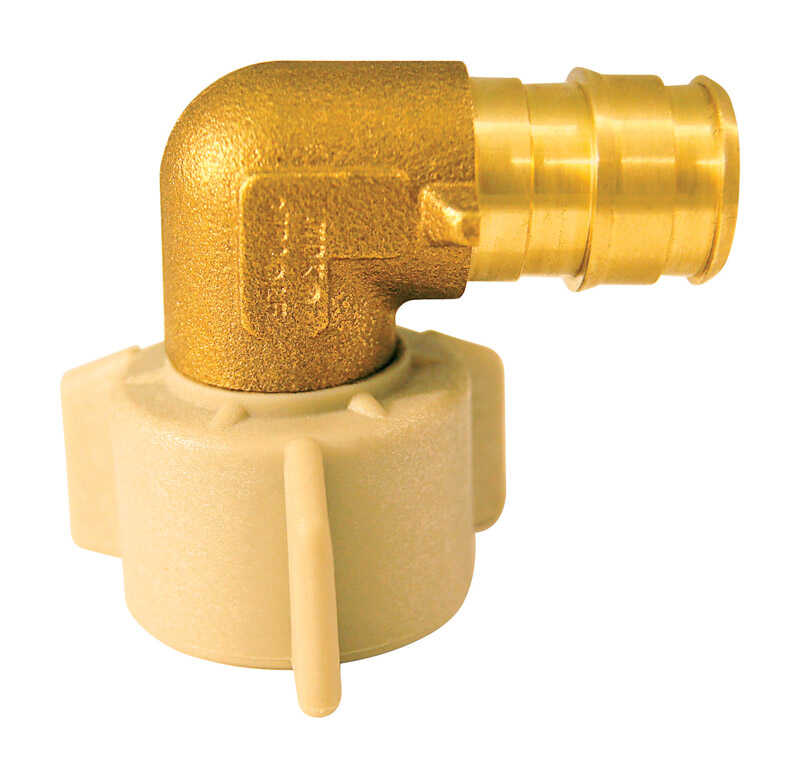 Apollo  Expansion PEX / Pex A  1/2 in. PEX   x 1/2 in. Dia. FPT  Brass  Elbow