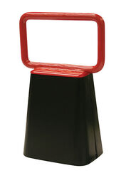 SpeeCo  Steel  6.75 in. H Black  Cowbell