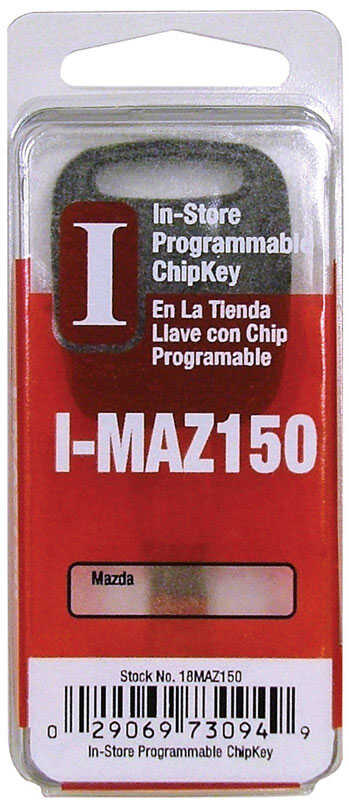 Hy-Ko  Automotive  Chipkey  EZ# I-MAZ150  Double sided For For Mazda