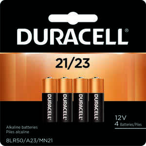Duracell  Alkaline  12-Volt  12 volt Security Battery  21/A23  4 pk