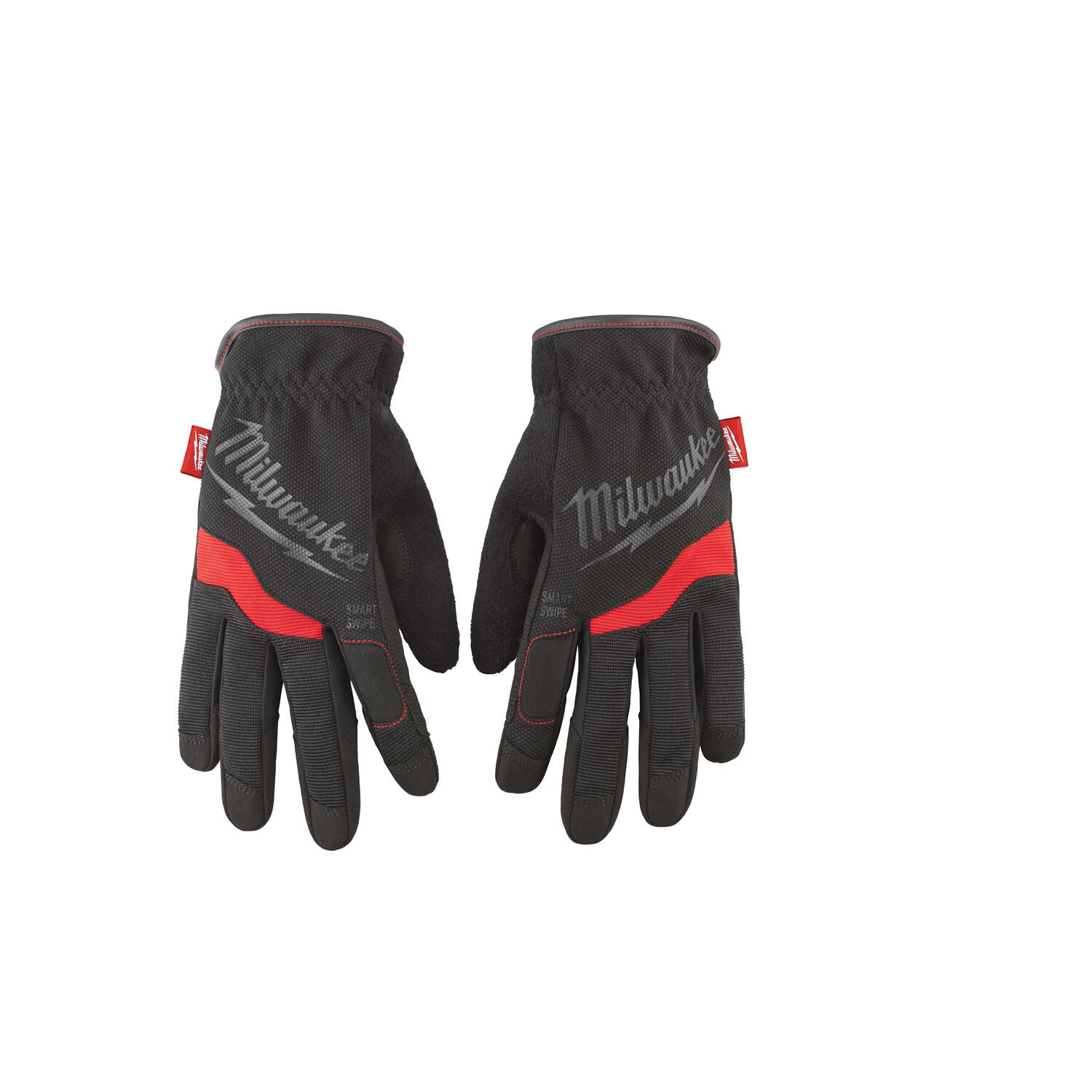 Milwaukee FreeFlex Spandex/Synthetic Leather Work Gloves Black/Red XL 1 pair