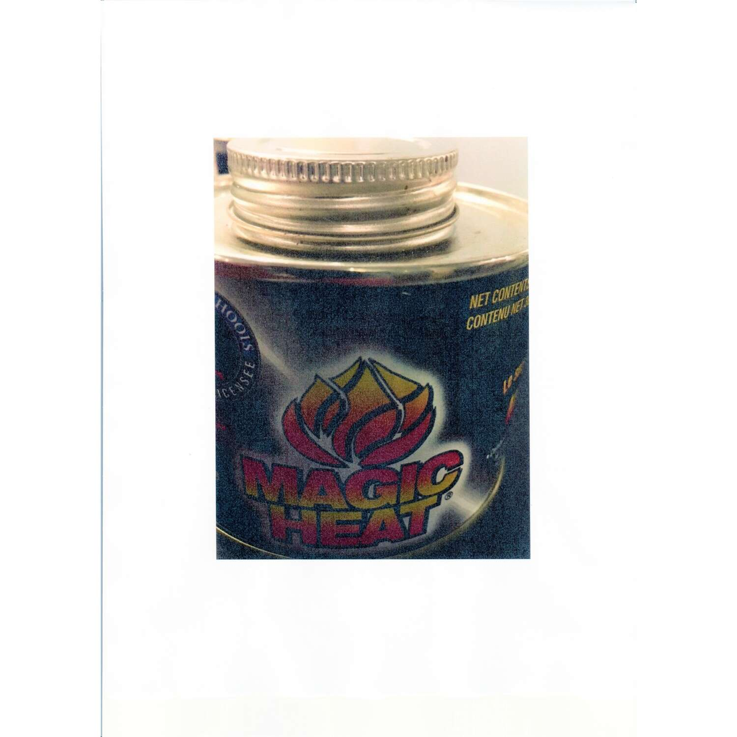 Magic Heat  Cooking Fuel  2.5 in. H x 3 in. W x 7.5 in. L 2 pk