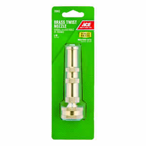 Ace  Adjustable  Brass  Hose Nozzle