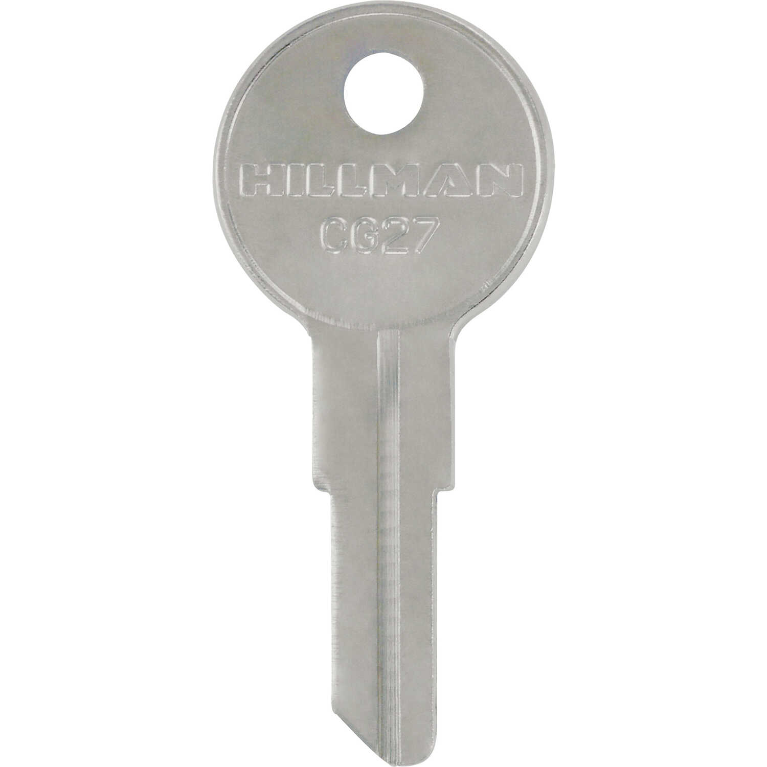 HILLMAN  Automotive  Universal Key Blank  CG27  Single sided For Chicago