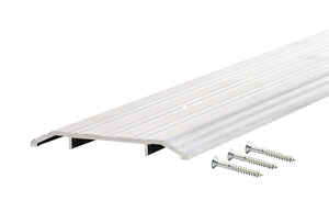 M-D Building Products  6 in. W x 36 in. L Mill  Aluminum  Fluted Top Threshold