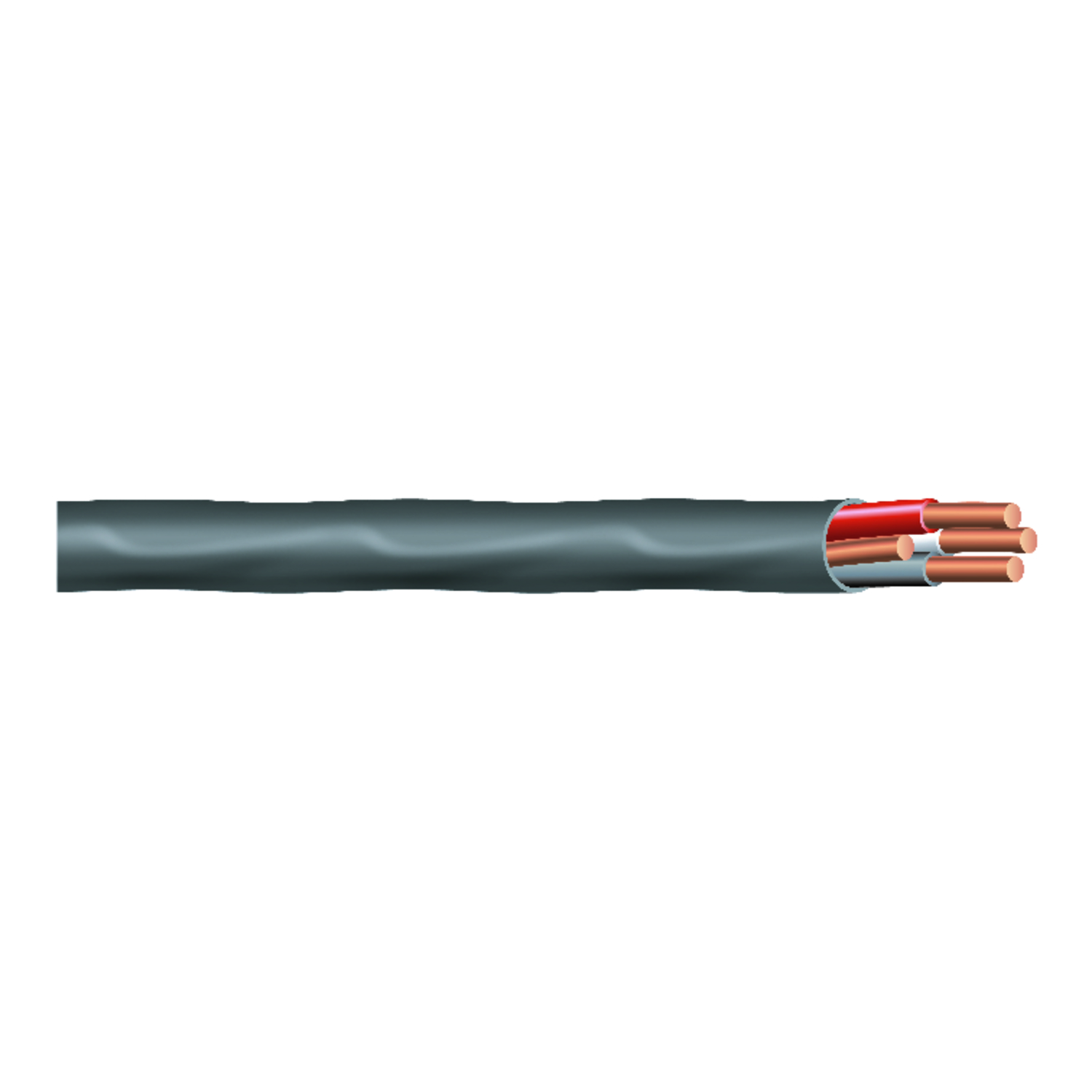 Southwire  25 ft. 8/3  Romex Type NM-B WG Non-Metallic  Wire  Solid