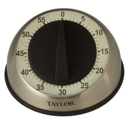 Taylor  Pro  Mechanical  Stainless Steel  Timer