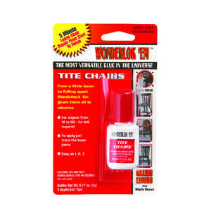 Wonderlok 'Em  Super Strength  Liquid  Glue  .17 oz.