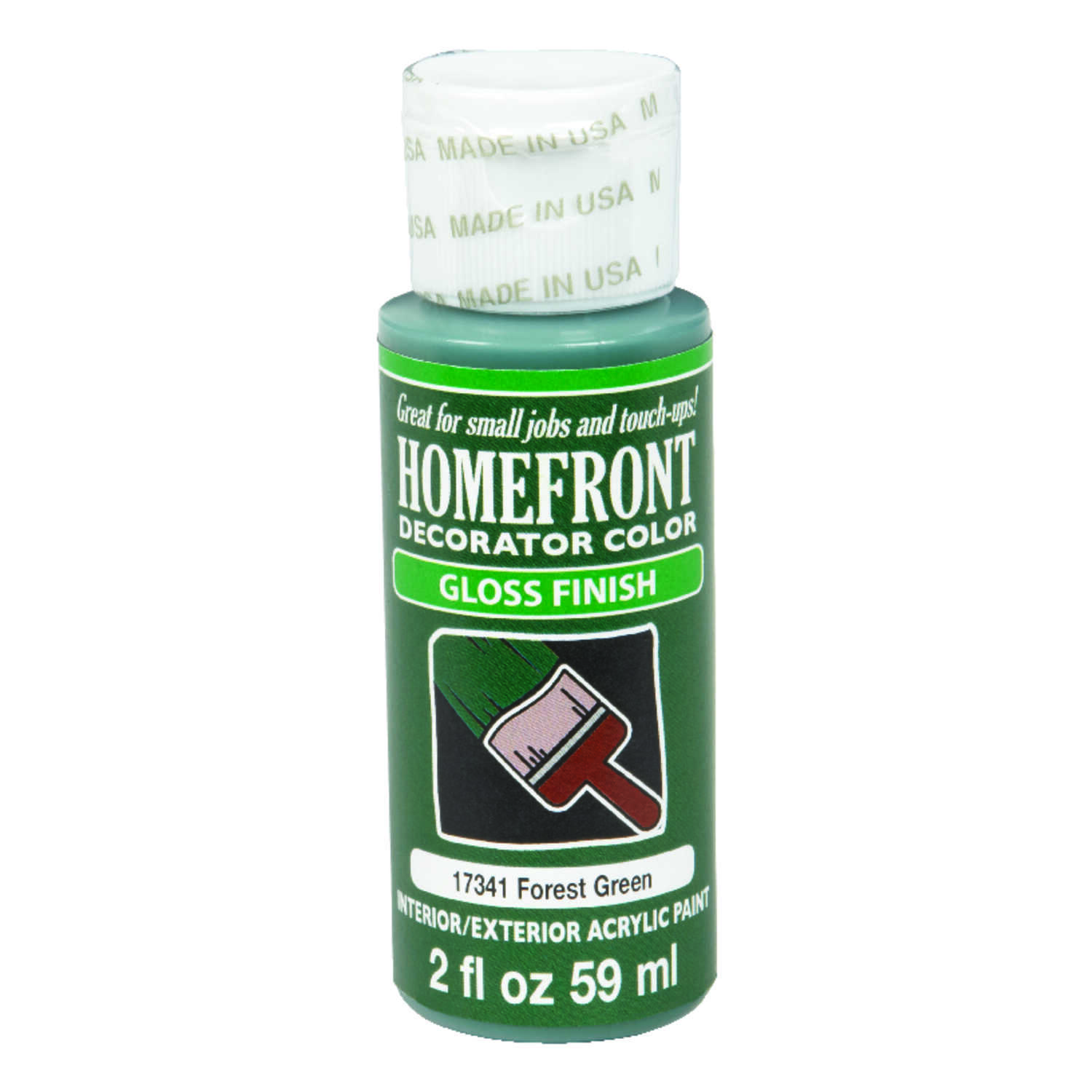 Homefront  Gloss  Forest Green  Hobby Paint  2 oz.