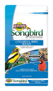 Audubon Park  Songbird Selections  Assorted Species  Wild Bird Food  Millet  12 lb.