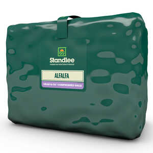 Standlee Premium Western Forage  Alfalfa  Compressed Bale  For Horses 50 lb.