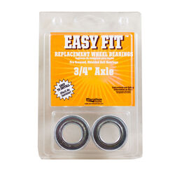 Marathon  Easy Fit  500 lb. capacity Wheel Bearings  Steel  2 pk