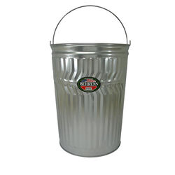Behrens  20 gal. Galvanized Steel  Garbage Can  Animal Proof/Animal Resistant