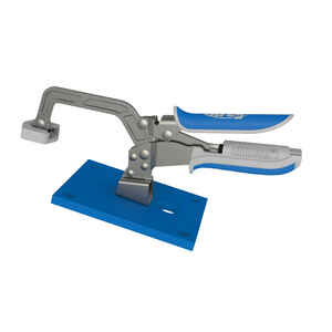 Kreg  Automaxx  3 in.  x 3 in. D Metal  Bench Clamp System  Silver