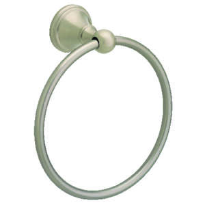 Franklin Brass  Crestfield  Satin Nickel  Towel Ring  Die Cast Zinc