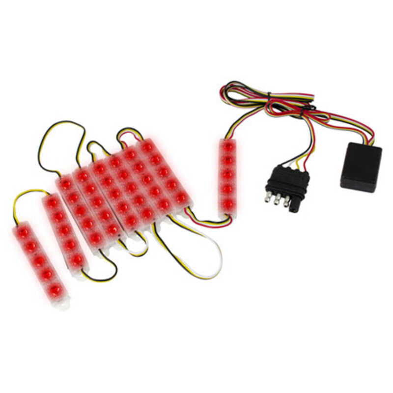 Custom Accessories  Red  LED Light  1 pk