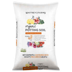 Whitney Farms  Organic Potting Soil  1.5 cu. ft.
