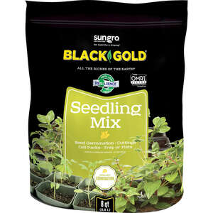 Black Gold  Seedling Mix  Organic Seed Starter Mix