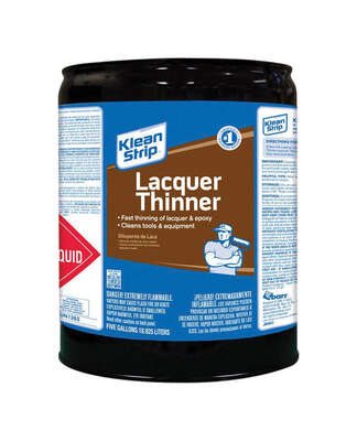 Klean Strip  Lacquer Thinner  5 gal.