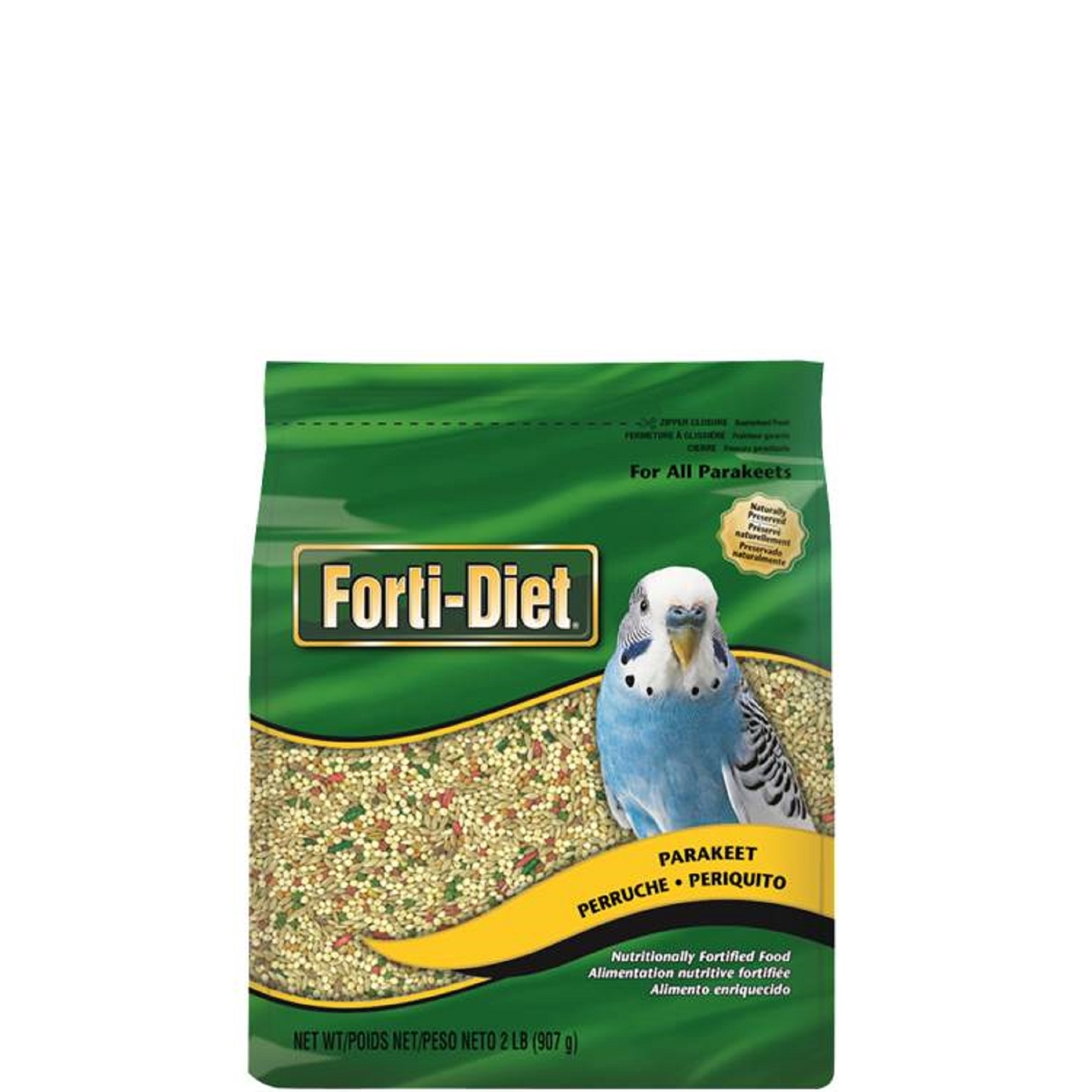 Kaytee  Forti-Diet  Parakeet  Bird  Food  Seed  2 lb. Canary Grass Seed