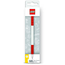 Lego  Santoki  Red  Gel Pen  1 pk