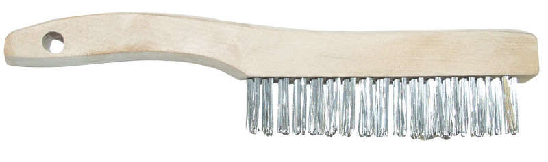 Allway 1-1/16 in. W x 10.25 in. L Stainless Steel Wire Brush