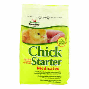 Manna Pro  Chick Starter  Grower/Starter Feed  Crumble  For Poultry 5 lb.