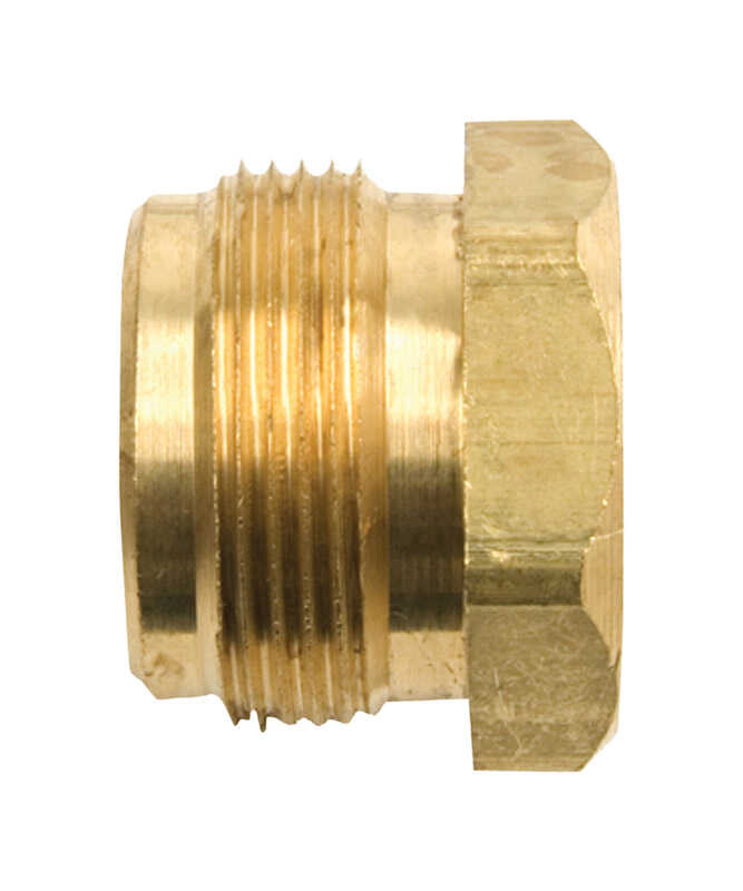 Mr. Heater  1/4 in. Dia. x 1 in. Dia. Brass  FPT x MPT  Cylinder Adapter